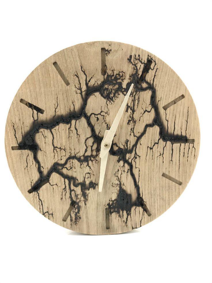 25+ best ideas about Wanduhr holz on Pinterest  Uhr holz  # Wanduhr Retro Holz
