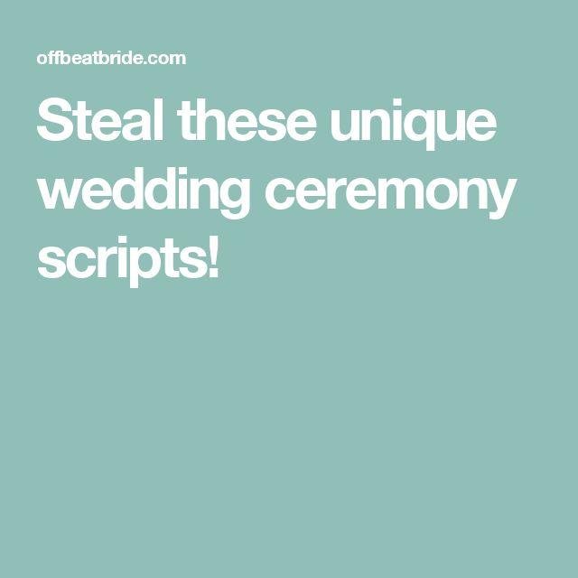 17 Best Ideas About Wedding Officiant Script On Pinterest