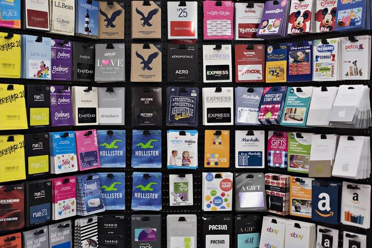 Gift cards for sale at a Kroger Co. store in Peoria, Ill., on June 16....