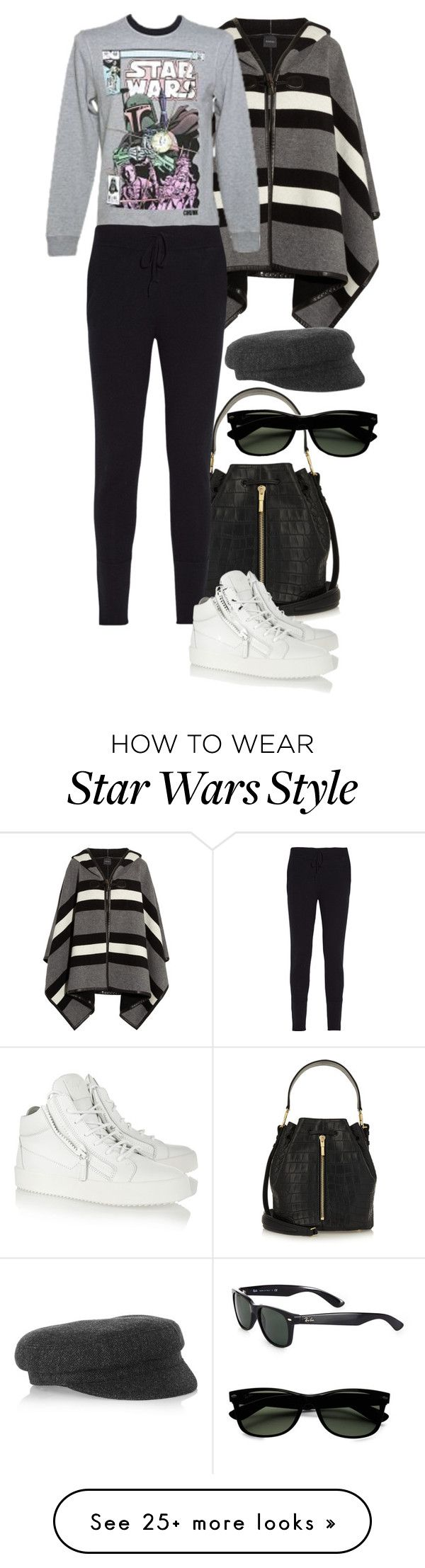 """""""Star Wars 1982."""" by foreverforbiddenromancefashion on Polyvore featuring Gucci, Elizabeth and James, Chinti and Parker, Giuseppe Zanotti, Étoile Isabel Marant and Ray-Ban"""