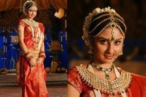 South Indian Bridal Makeup tips with images A South Indian bride can be identified with her elaborate ornaments. Weddings in the southern part of India are a colorful affair.