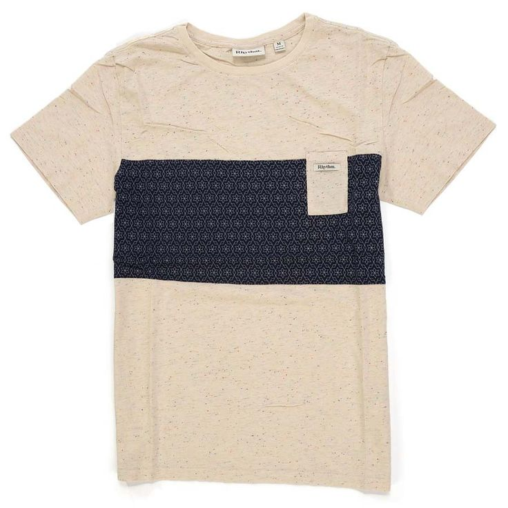 T-Shirt Rhythm SPROUT Crème