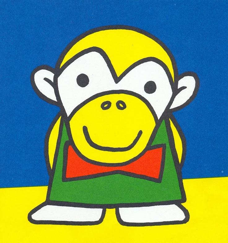 Dick bruna monkey boy dd dick bruna for Bruna ommen