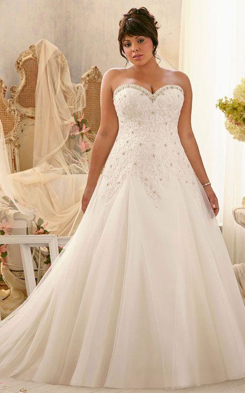 plus size wedding dress   ideas for my wedding   Pinterest   Wedding dresses, Wedding and Bridal gowns