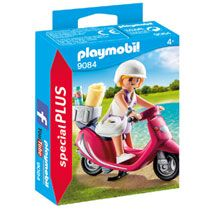 PLAYMOBIL Special Plus zomers meisje met scooter 9084