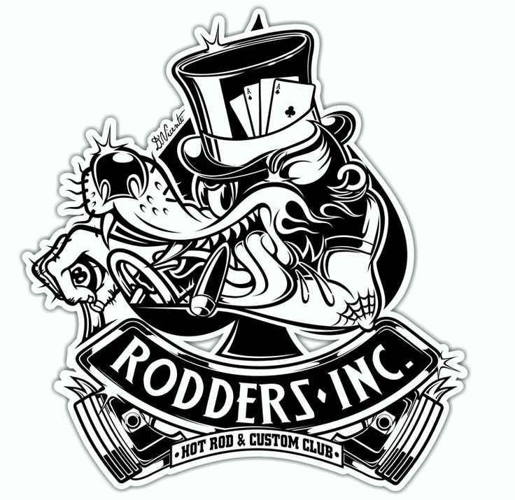 Logo rodders inc t shirt design rouse hill rumble for How to copyright t shirt designs