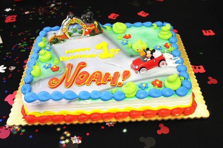 Mickey Mouse Birthday Cake Heb