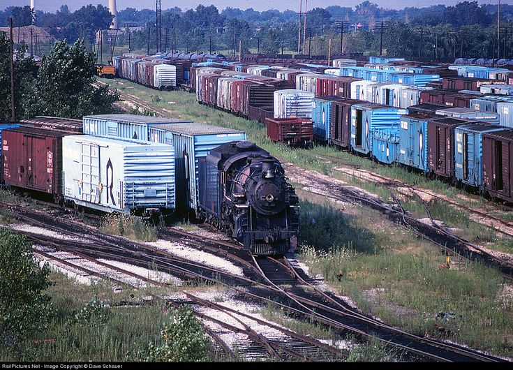 RailPictures.Net Photo: GTW 5629 Grand Trunk Western Steam 4-6-2 at Blue Island, Illinois by Dave Schauer