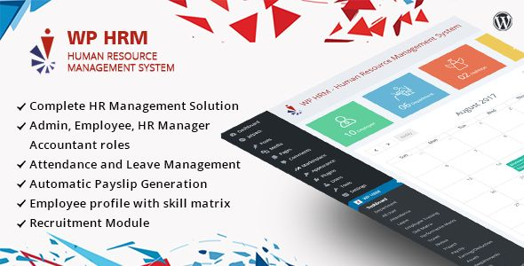 WPHRM ¨C Human Resource Management System for Wordpress by dasinfomedia WPHRM works seamlessly with your existing wordpress site. It frees your time managing employee and keeps employee attendance, leaves, Holidays and payslips and much more in single system. Demo Link: http://mobilewebs.net/mojoomla/