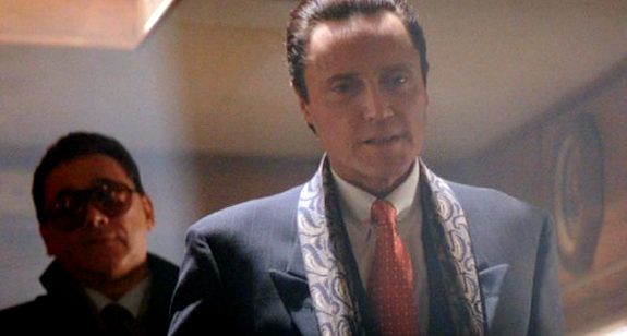 """""""I'm the Anti-Christ. You got me in a vendetta kind of mood."""" True Romance - Christopher Walken as Vincenzo Coccotti"""