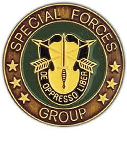 Army Special Forces Grp Challenge Coin