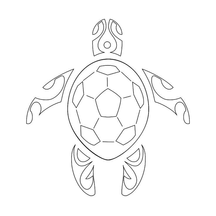 sea+turtle+template | TATTOO TRIBES - Dai forma ai tuoi sogni, Tatuaggi con significato ...