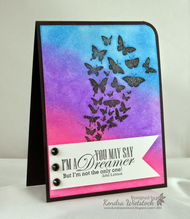 By: Kendra Wietstock; Crafter's Companion (Stamp-it Australia Time to Dream; Sheena Douglass A Little Bit Sketchy True Colors; Radiant Neon Inks) @CraftersCompanion