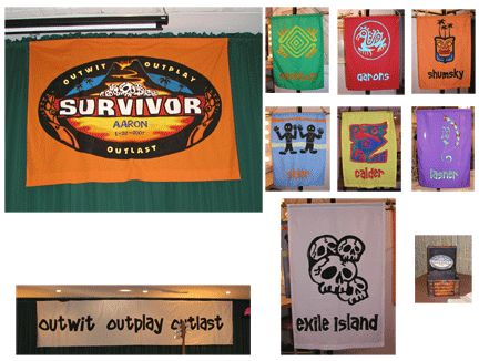 Flags for Survivor