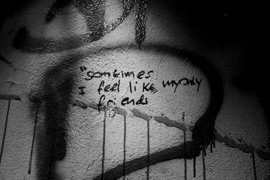 Bundoora mental asylum black and white photography haunted graffiti abandoned