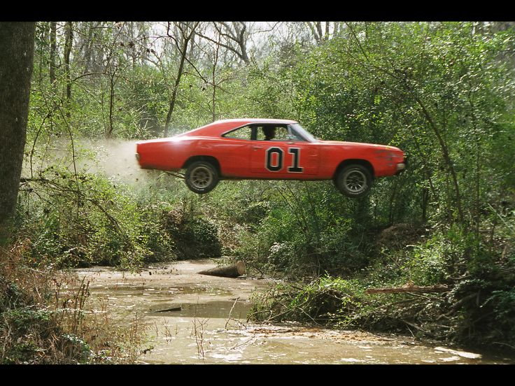 general lee car jumping - Google Search