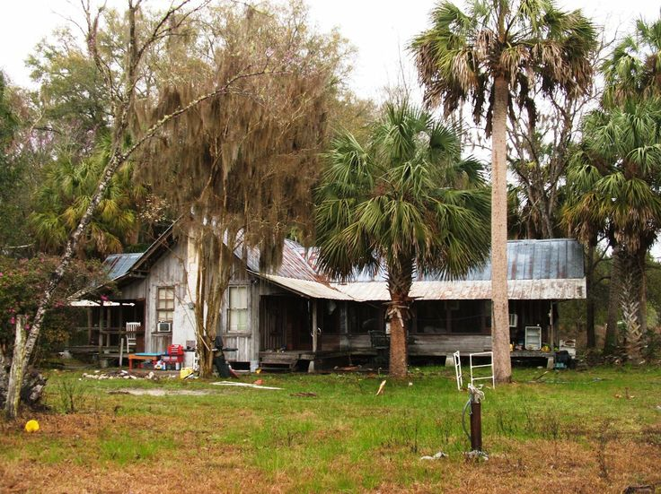 Old florida cracker style love this pinterest for Fish camps for sale in florida