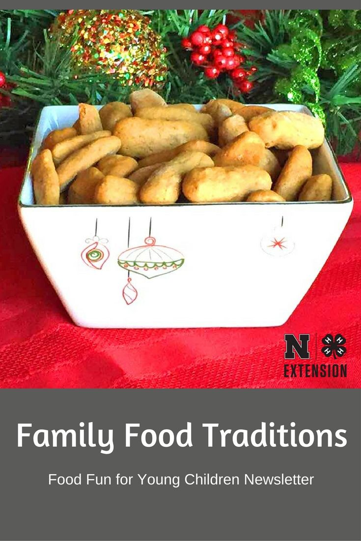 Family food traditions are important for both the young and old. Try this traditional recipe for Pfeffernusse (Pepper Nuts)!
