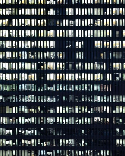 Michael Wolf // photography // The Transparent City