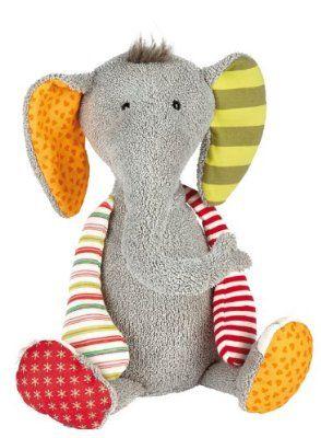 Sigikid 38372 - Elefant - Sweety, Kuscheltier:Amazon.de:Spielzeug