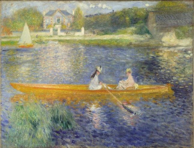 La Seine à Asnières dit La yole, Pierre-Auguste Renoir, 1879