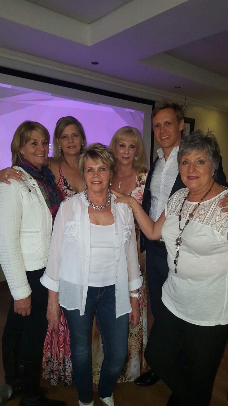 My Johannesburg Team with Ryan and his mom Lauri Hindson