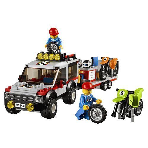 "LEGO City Dirt Bike Transporter (4433) - LEGO - Toys ""R"" Us"
