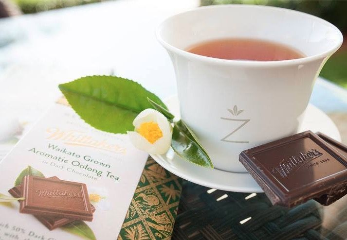 A match made in even: Zealong tea and Whittaker's tea-infused chocolate
