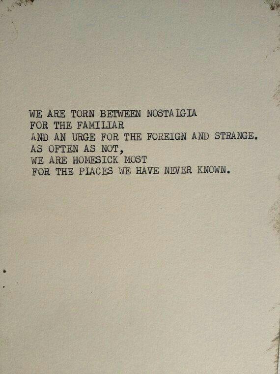 Quotes Nostalgia