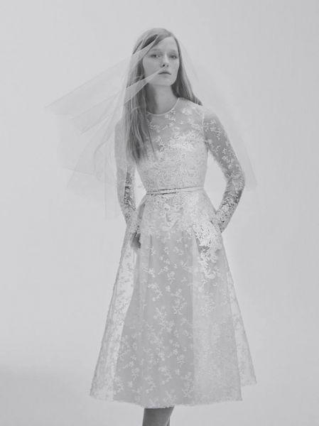 Vestidos de novia cortos 2017: ¡45 diseños encantadores! Image: 20