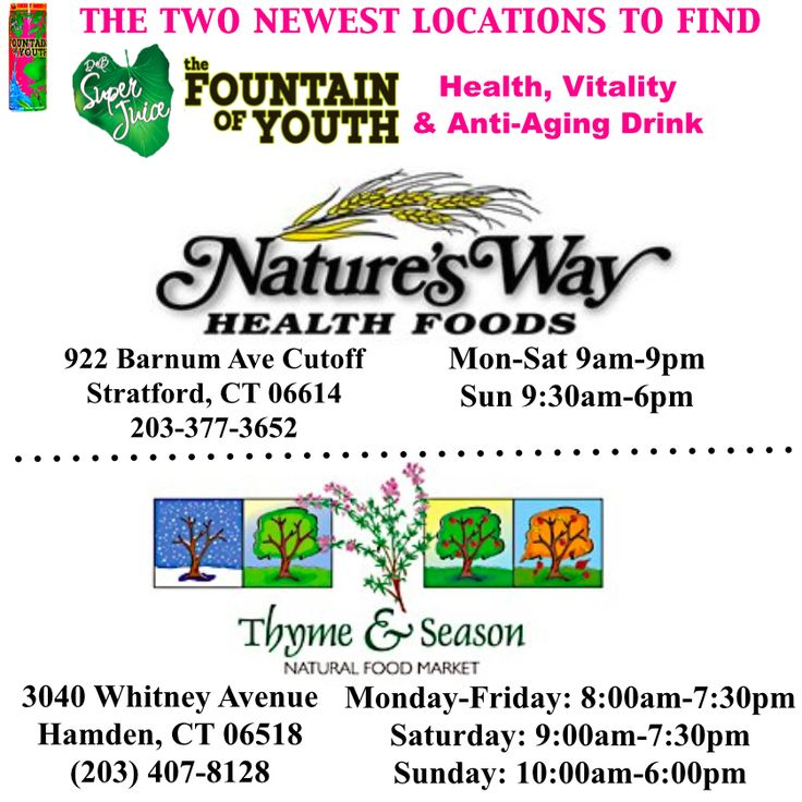 Nature S Way Health Foods Stratford Ct
