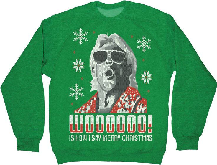 Ric Flair Christmas Sweatshirt | Ric flair