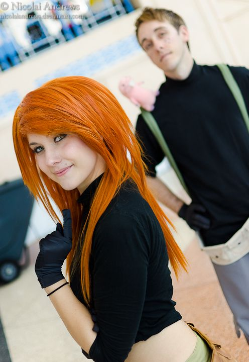 Kim Possible and Ron Stoppable. Halloween this year. Me and mike though... for real.