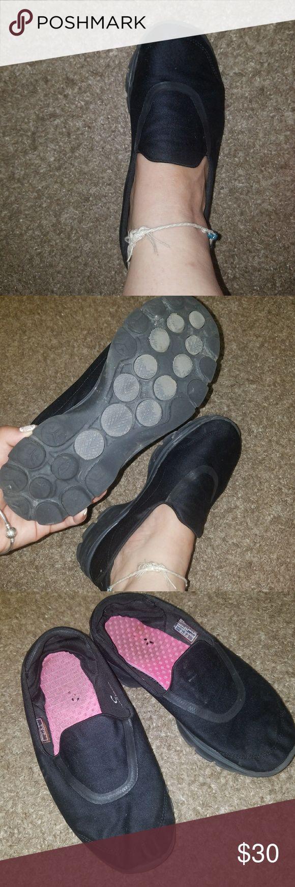 Sketchers go walk 3 Sketchers go walk 3 black used condition Skechers Shoes