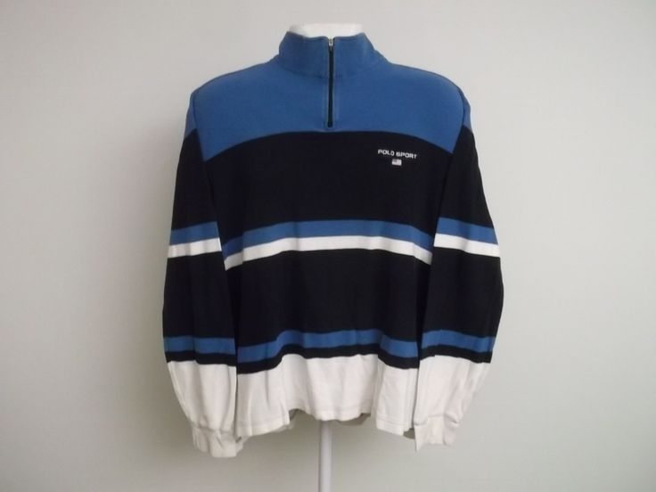 Image of Polo Sport qzip fits size large