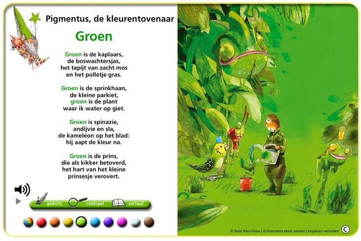 Mijn lievelingskleur is groen. Ik hou van de natuur! Als ik ga wandelen geniet ik van de natuur.