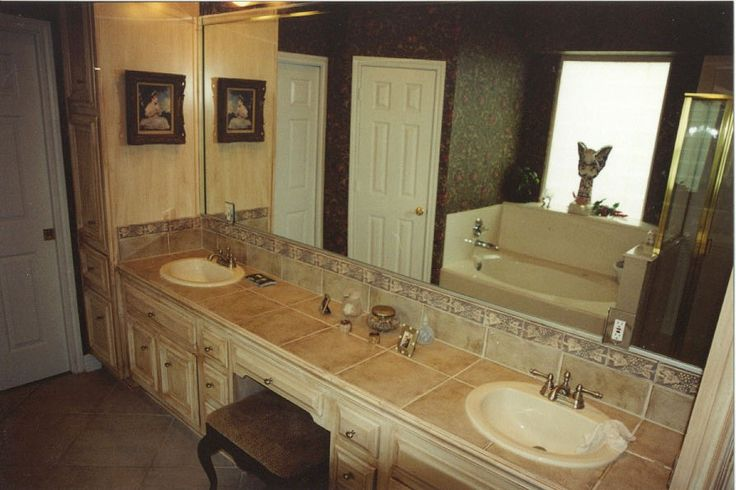 85 best ideas for the house images on pinterest for the for Master bathroom countertops
