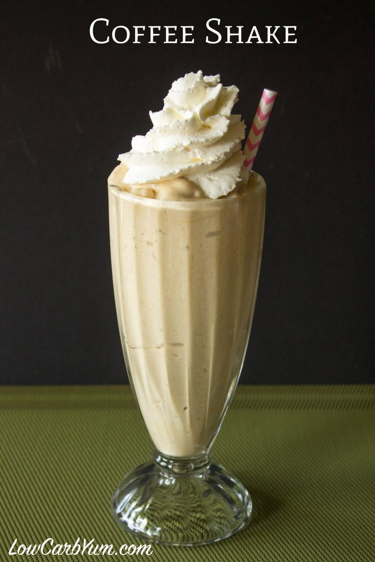 easy low carb coffee milkshake recipe