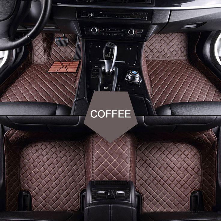 Custom fit car floor mats for Jeep Grand Cherokee Wrangler Commander Compass Patriot 3D car-styling heavyduty carpet floor liner