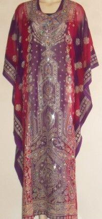 Khaleegy Dresses, Traditional Gulf Folkloric Dress