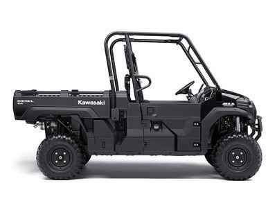 New 2017 Kawasaki Mule Pro-DX Diesel ATVs For Sale in Tennessee. OUR POWERFUL, MOST CAPABLE, FULL-SIZE THREE-PASSENGER DIESEL MULE SIDE X SIDE EVER. THE 2016 MULE PRO-DX FEATURES THE LARGEST STEEL CARGO BED IN ITS CLASS, BIG ENOUGH TO CLOSE THE TAILGATE ON A FULL-SIZE WOODEN PALLET (40X48 INCHES) WITH UP TO A 1,000-LB. CARGO BED CAPACITY* FOR SECURE TRANSPORT.