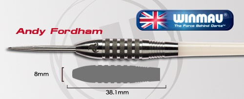 Woweeee Andy Fordham Atomised 24g Darts going great guns!! RT if you LOVE The Viking and want him back :)
