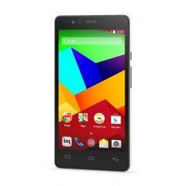 "bq Aquaris E5 LTE - Smartphone de 5"" (4G, Qualcomm Snapdragon 410 Quad Core A53, 16 GB de almacenamiento, 2 GB de RAM, cámara de 13 MP) color negro y blanco"