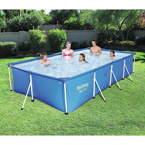 The 10 Bestway Pool Review Of 2019 Bestway Steel Pro Rectangular Frame Above Ground Swimmin Above Ground Swimming Pools Best Above Ground Pool Swimming Pools