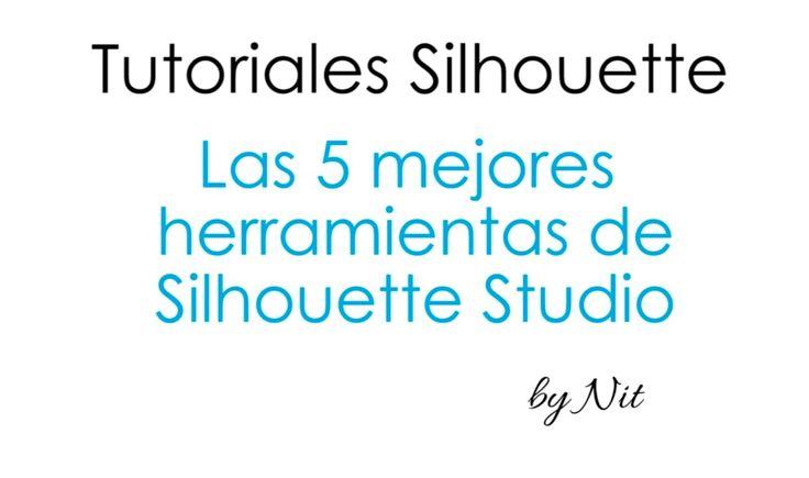 Las 5 mejores herramientas de Silhouette Studio (Español).