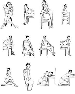 Posar como una modelo: ¿Qué hago con los brazos y las piernas?