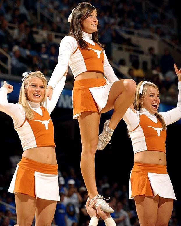 longhorns cheerleaders
