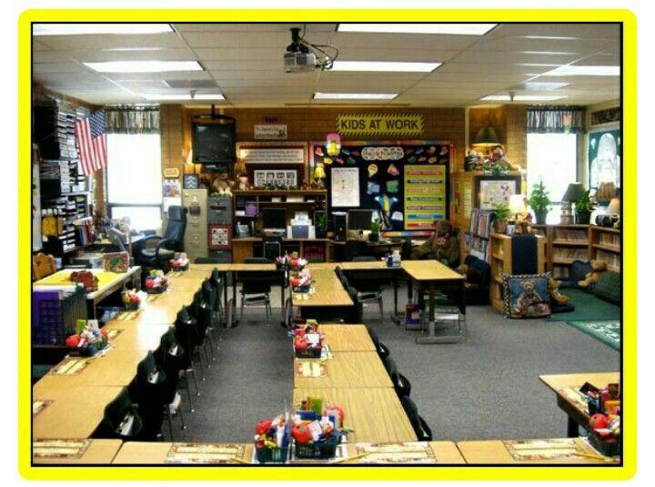 Classroom Design Arrow Or X ~ Muito bom salas de aula nos estados unidos pinterest