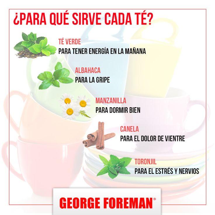 Si te encanta el té, te decimos cómo te ayuda cada tipo de ellos, ¡te vas a sorprender! :) #té #infusion #delicioso #bienestar #salud #georgeforemanmx