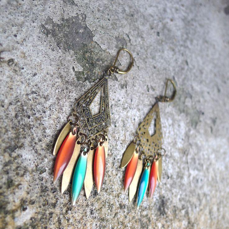 Boucles d'oreilles par Elisabeth de Sagazan